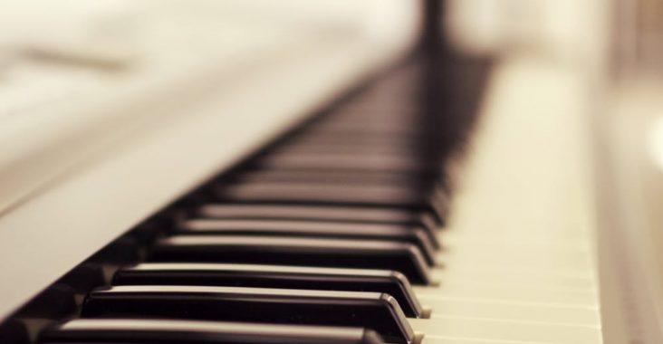 billede af et klaver