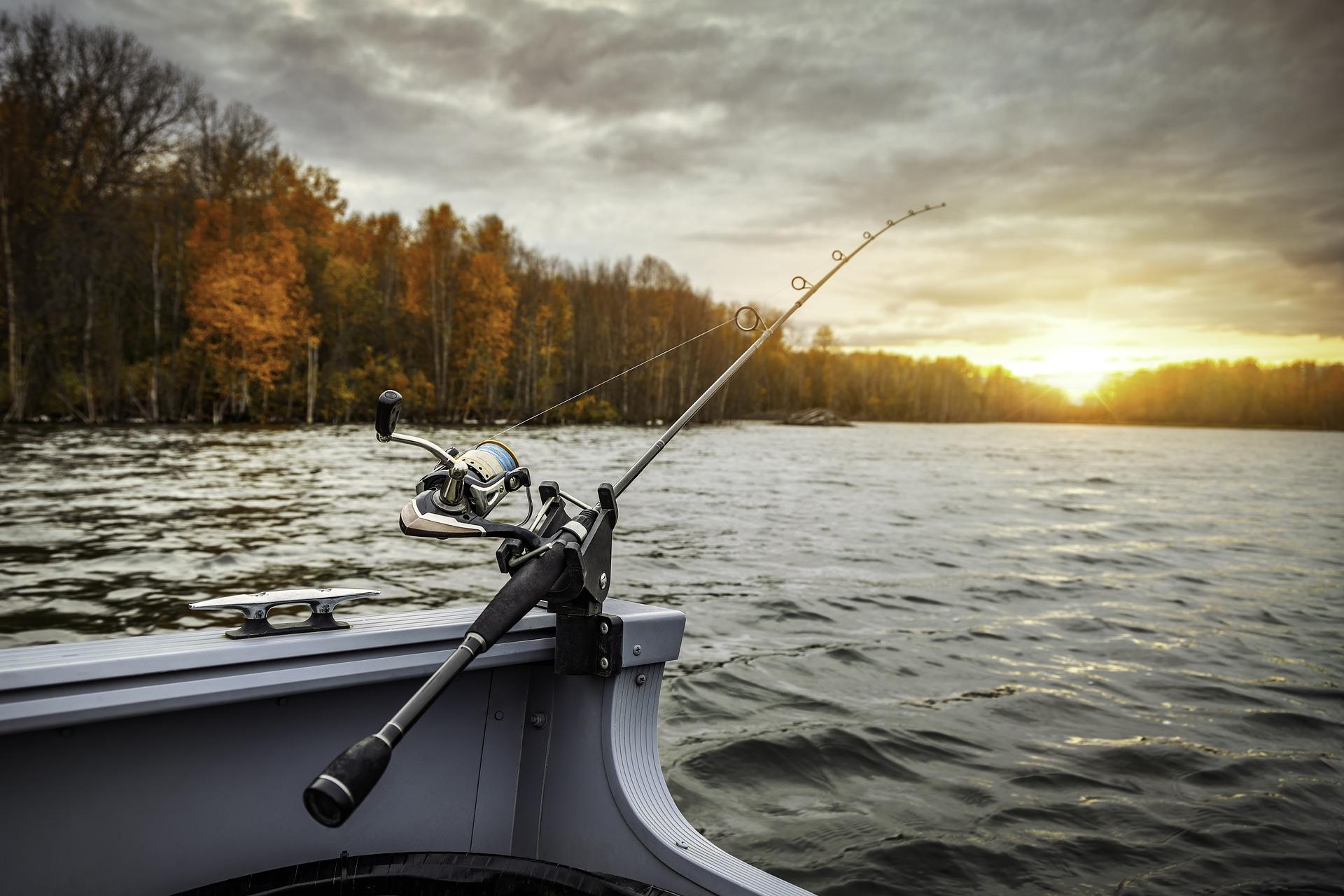 fiskeri i båd
